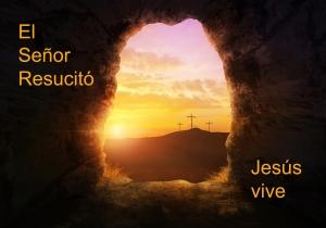 Y despues de Semana Santa, todos debemos recordar que El Señor vive.